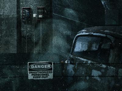 Bunker 2.0 illustration texture cd artwork military bunker hanger