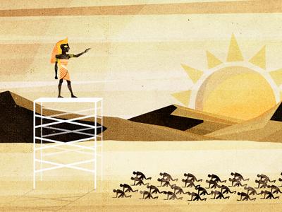 Ra illustration texture cd artwork egypt ra sun pharaoh slaves