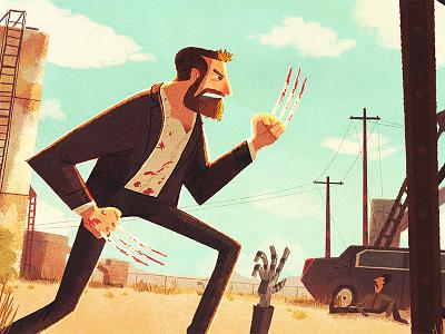 Logan xmen wolverine logan illustration