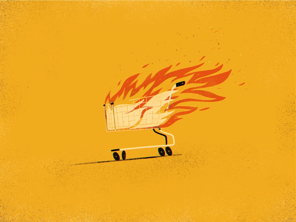 American Animals fire illustration