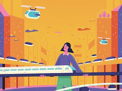 Transport future city transport