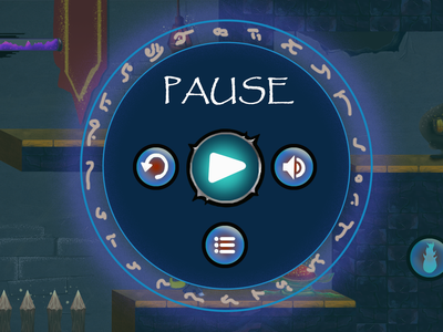 Pause menu
