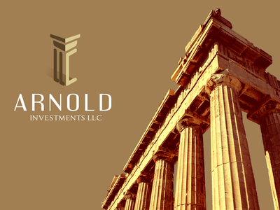 Arnold Investments LLC traditional properties brand brand identity design branding logo ancient creativelogo apartment construction real estate realestate romania romanian