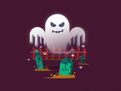 Ghost digital design digital illustration illustrator cc icon illustration vector design halloween party october ghostbusters ghost halloween design halloween