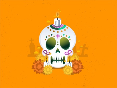 Skull icon detail digital illustration illustration art illustrator cc vector design halloween design halloween skull art death skull