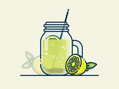 LEMONADE! crystal inspiration lemonade illustration lemonade lemon art vector design illustrator cc illustrator illustration art illustration