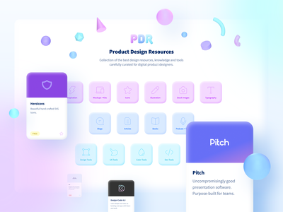 Product Design Resources – Design Update website webdesign uiux ux ui tools side project resources redesign product designer product interface inspiration freebies free digital desktop design resources design blog
