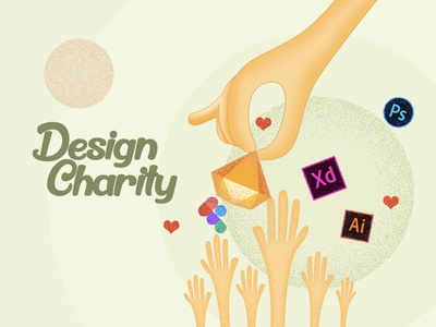 Design Charity-Where Everything is Free! freebies stories medium article charity branding interaction ux ui design
