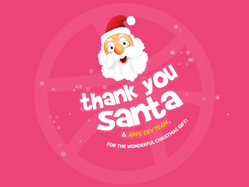 Thank you @AppsDevTeam thank you new my first gift santa