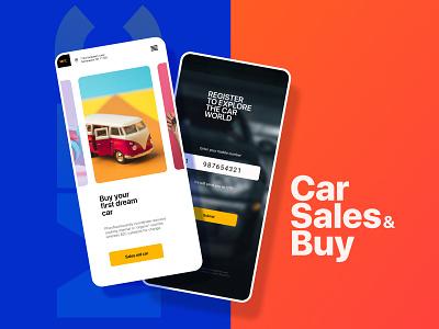 MFC-Car Sales and Buy design mobile app app ux website ui design