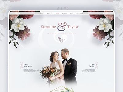 Wedding-Landingpage mobile app wedding card wedding invite logo design creative branding website