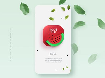 App Icon-Nutri Me #DailyUI 05