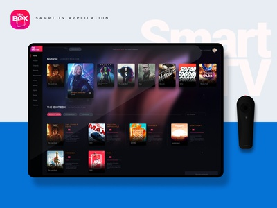 Smart TV Application #DailyUI 25