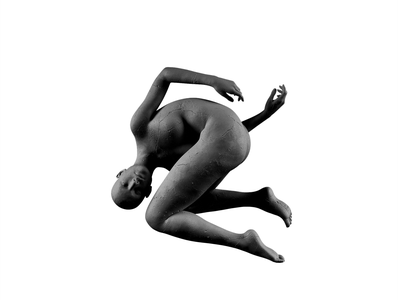 Monoblack — Amender album cover art album cover music minimal cracks stone statue abstract cgi cg c4d cinema 4d cinema4d blender photoshop quixel 3d dimension adobe dimension daz3d