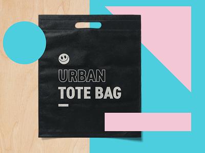 Urban Tote Bag design layered psd freebie free download psd mockup mockups retail urban outfitters urban tote bag mockup totebag tote merchandise merch