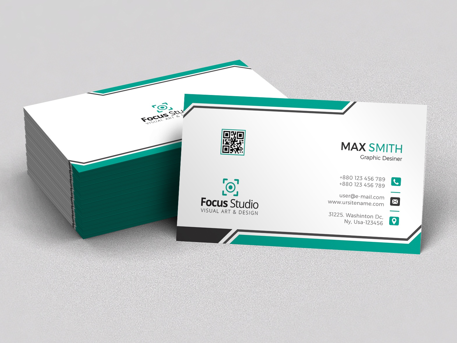 Business Card concept clean design biz card business card print design business branding design clean design professional crative professional design graphic design branding awesome corporate