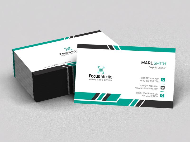Business Card brand identity brand design color concept card blue biz card print design business card business branding design clean design professional crative professional design graphic design branding awesome corporate