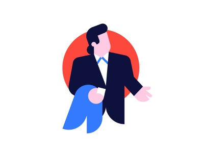 Illustration for Joom (404 page). Concept. confused error 404 travolta icon branding ux design vector illustration character oops 404 page 404page