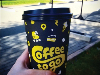 Coffee to Go. Cup.
