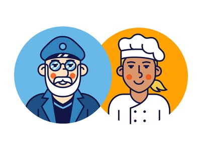 Sailor and chef