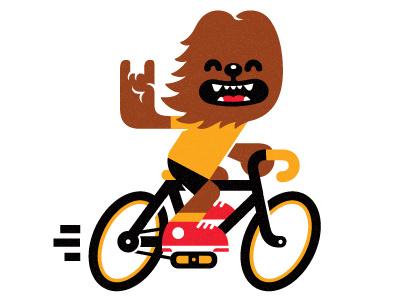 Сhewbacca :) t-shirt Сhewbacca fun star wars fix bike chewy chewie characters starwars