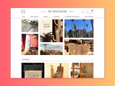 The Wild Bazar Design - Eshop