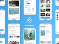 Airbnb Weekends - Concept Product Design
