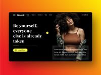 Qualz UI design