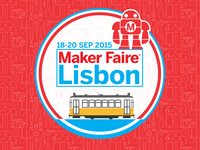 Maker Faire Lisbon Badge