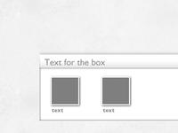 Detail Content Box