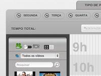 web video timeline organizer