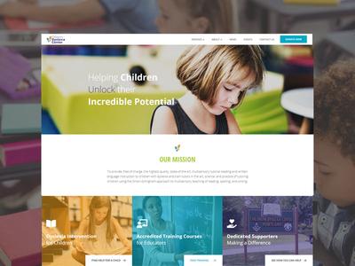 Educational Non-Profit Website