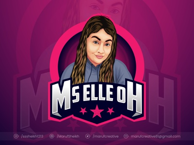 Cartoon portrait mascot logo design cartoon illustration potrait mascotlogo esportlogo esports logo cartoonmascot mascot character concept vector mascot design illustration