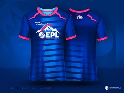 EPL 2021 Logo & Jersey Design Concept - Everest Premier League nepal team logo nepal logo design concept logo mascot logo sports logo team logo tournament logo cricket logo league logo logo everest premier league epl