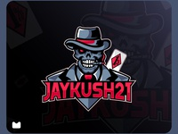 Jaykush21 mascot logo design