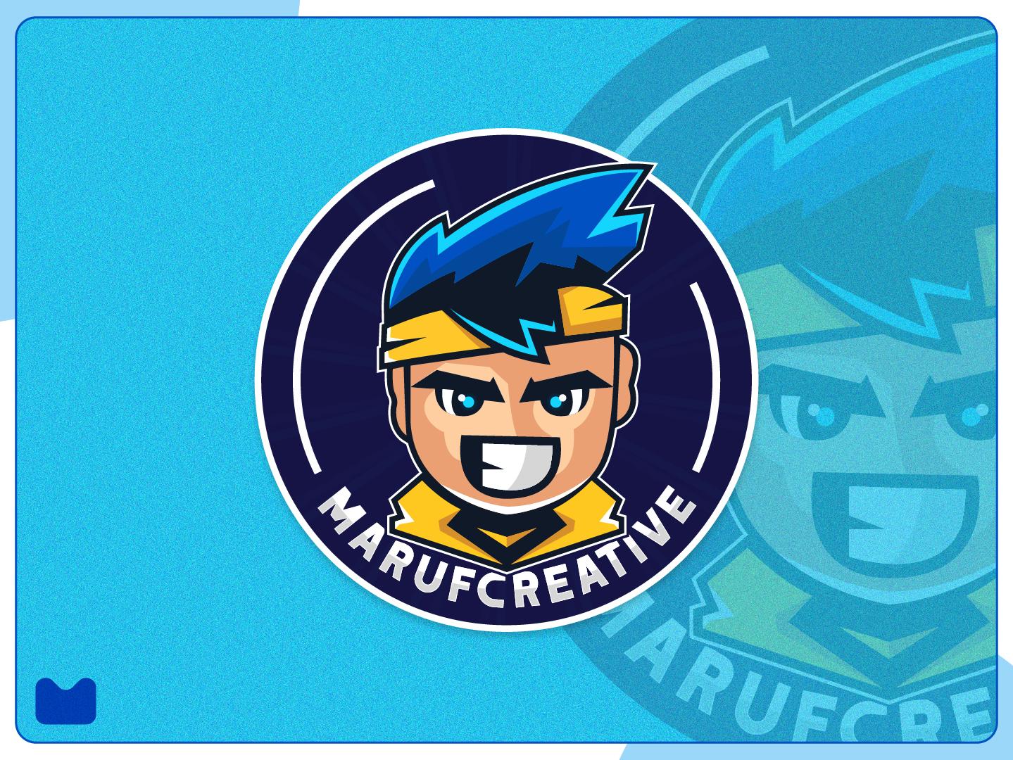 marufcreative mascot logo design esports logo design concept mascot design mascot character logo cartoonmascot illustration streaming games game illustraion vector esport logo esportlogo esports esport mascotlogo mascot logo mascot