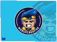 marufcreative mascot logo design