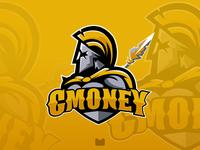 Gmoney eSports Mascot logo design