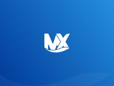 Mx Solution Logo Design