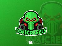 Toxicrebels MASCOT LOGO