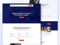Design Agency Creative Website Template