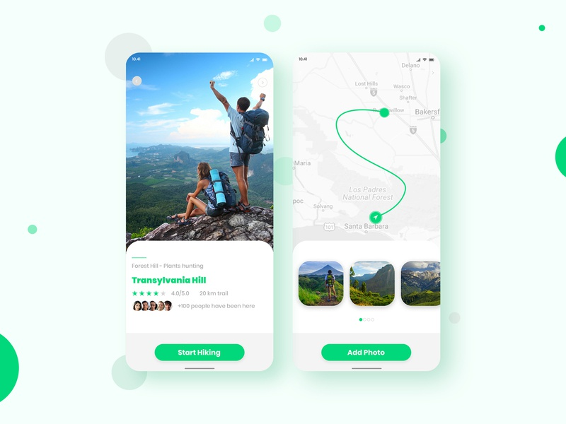 hiking app concept appdesigner application webdesign graphicdesign app design concept travel app mountains hiking user interface user experience userinterface uidesign uiux appdesign app