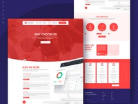 Creative E-Commerce Website Template