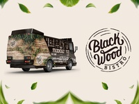 Black Wood Bistro Logo