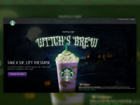 Starbucks Header Redesign