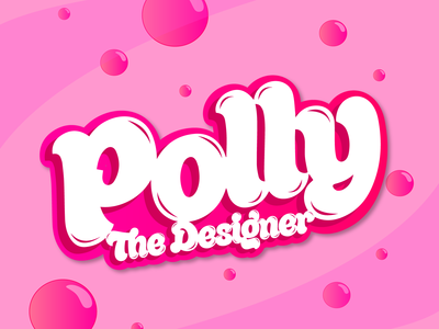 POLLY THE DESIGNER logo