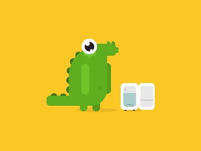 Mr. Dinosaur for Hell'o Baby dinosaur hell hello baby album app dino