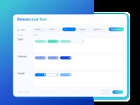 Domain List Tool