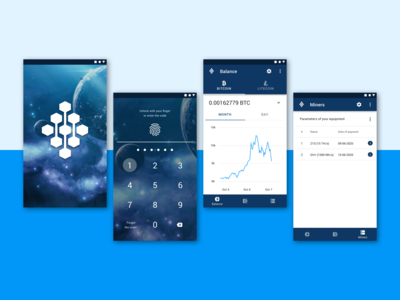 Android App for Mining Hotel