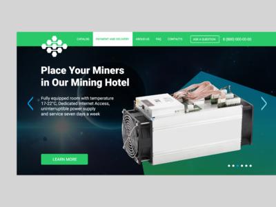 Mining Hotel Website